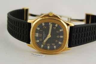 Patek Philippe Ladies Aquanaut 4960J 18K Yellow Gold Watch