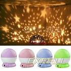Star Romantic Children Fantastic Night Projector Light Lamp USB Cable