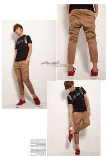 Stylish Slim Skinny Wash Jeans Trousers CROP Harem Pants free ship