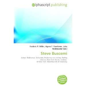 Steve Buscemi (French Edition) (9786132727152) Books