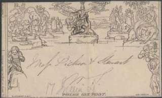 Great Britain Mulready Lettersheet Scott U3 Used cv£425