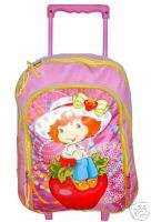 Shortcake Rolling Backpack+lunch box School bag set Original new