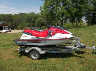 2000 Yamaha 1200 XL Limited and 1999 GP1200 Jet Ski with Trailer in