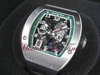 Richard Mille RM 10 Le Mans Classic Skeleton White Gold LIMITED 30