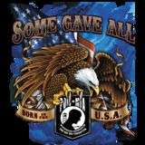 POW MIA SOME GAVE ALL EAGLE BIKER TSHIRT HARLEY COLORS S 5XL
