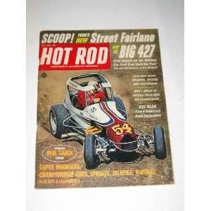 Hot Rod Magazine July 1966 Street Fairlane Big 427