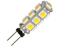 Warm White G4 13 5050 SMD LED Car Camper Marine Light Lamp Bulb DC 12V