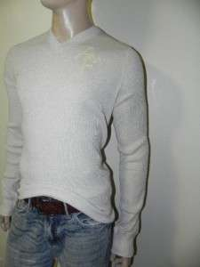 New Abercrombie & Fitch A&F Mens Slim/Muscle Fit V Neck Sweater