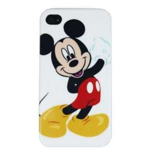Mickey Mouse Skin Cover Hard Case for Apple iPhone 4 4G