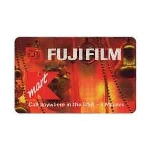 Collectible Phone Card 4m K Mart Logo & Fuji Film Promo
