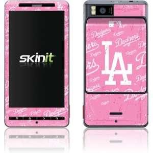 Skinit Los Angeles Dodgers   Pink Cap Logo Blast Vinyl