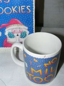 COOKIES & MILK FOR SANTA CLAUS For Me ? Mary Engelbreit Plate & Cup