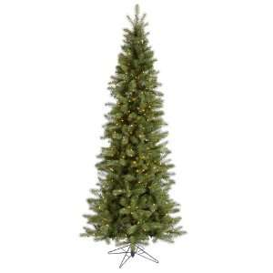 42 Albany Spruce Slim 500 Clear Lights Christmas Tree (A114081