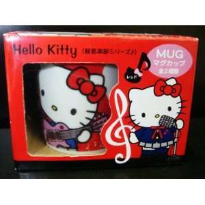 Sanrio Hello Kitty Ceramic Mug coffee Cup 3 red by H M Shop