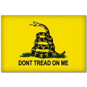 Dont Tread on Me Gadsden Flag sticker decal 10 x 8