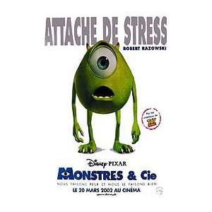 MONSTERS, INC. (FRENCH ROLLED   ADVANCE ROBERT) Movie