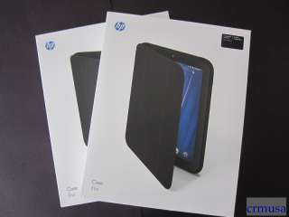 Authentic HP TouchPad Tablet Case Cover Black Custom Fit NEW original