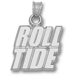 University of Alabama Roll Tide Pendant (Silver)  Sports