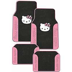 Hello Kitty 4 piece Auto Floor Mat Set