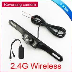 GPS Wireless Car Rear View Reversing Camera Monitor