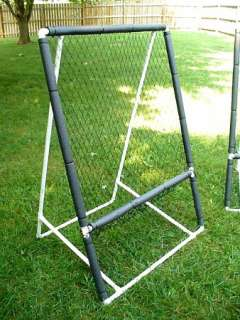 DIY PVC Portable Baseball Softball Catching / Pitching Net (PLANS ONLY