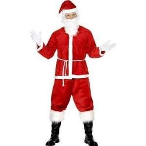 Dlux Santa /Father Christmas Fancy Dress Costume Suit M Toys & Games