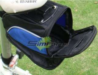 NEW Cycling Bike Bicycle saddle seat Bag For Giant Blue