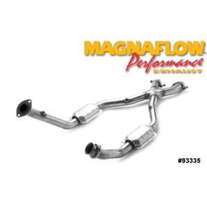 Magnaflow Tru X Stainless Steel Crossover Pipes   2001 Ford Mustang 4