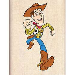 Disney Wood Mounted Rubber Stamp   Toy Story Woody