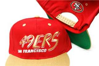 San Francisco 49ers Retro Snapback Cap Hat Green Underbill SUPER FAST