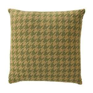 Green Brown Sweater Material Accent Pillow: Home & Kitchen