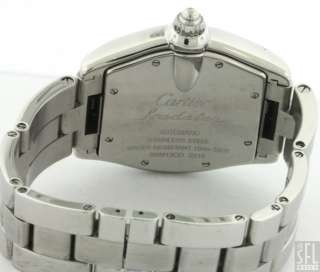 CARTIER ROADSTER STAINLESS STEEL LARGE AUTOMATIC MENS WATCH
