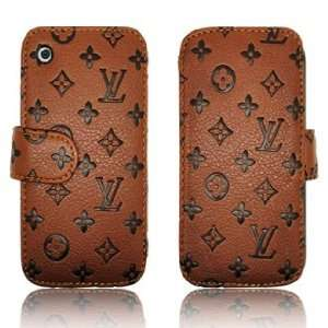 Leather Case Cover for iPhone 3G 3GS *HOT* Cell Phones & Accessories