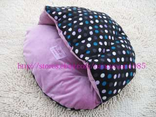 NEW Sweet Half Covered Pet Dog Cat Bed Sleeping Bag Soft&Warm Dog