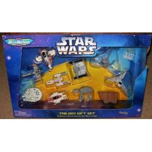 Star Wars Micro Machines Trilogy Gift Set  Toys & Games
