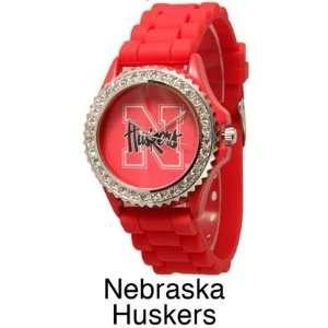 Watch, University of Nebraska, Huskers, Bling Bling for Women
