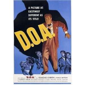 DOA Vintage Movie Poster: Home & Kitchen