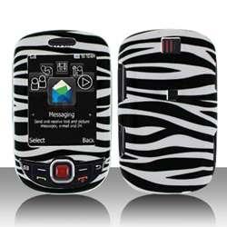 Samsung Smiley T359 Black White Zebra Protector Case