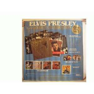 Elvis Presley Poster Blue Collectibles
