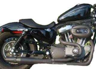 Thunderheader 2 into 1 Exhaust for Harley Davidson Black Ceramic 1058B