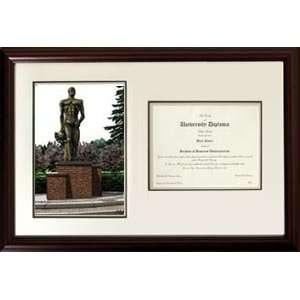 Michigan State University Spartan Statue Graduate
