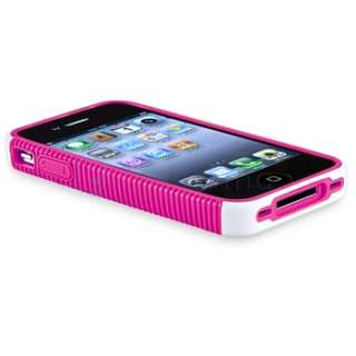 Hybrid Hard Case Cover Skin For iPhone 4S 4G 4th Gen USA Accessory