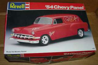 1954 PANEL WAGON 1/25TH 54 CHEVY PANEL (((((~project car~)))))