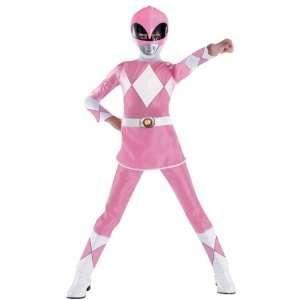 Girls Pink Deluxe Power Ranger Costume Size Medium Toys & Games