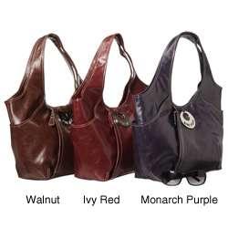 Nine West Marina Large Glazed Hobo Bag