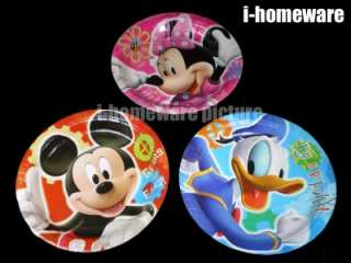 Mickey Mouse Birthday Party 6x Paper Plates m363