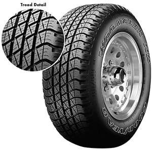 Goodyear Wrangler HP Tire P265/70R17, All Season Traction Tire