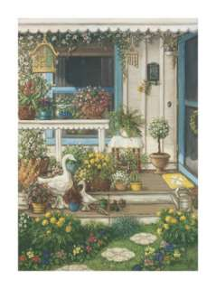 Spring Front Porch Prints by Janet Kruskamp at AllPosters