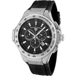 Swiss Legend Mens Maverick Black Rubber Chronograph Watch