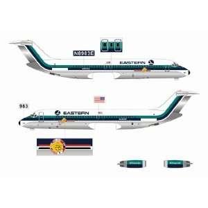 Jet X 1400 Eastern DC 9 Bicentennial Model Airplane